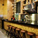 Fotos del taburete Kosper en la decoración del restaurante Vi Cool
