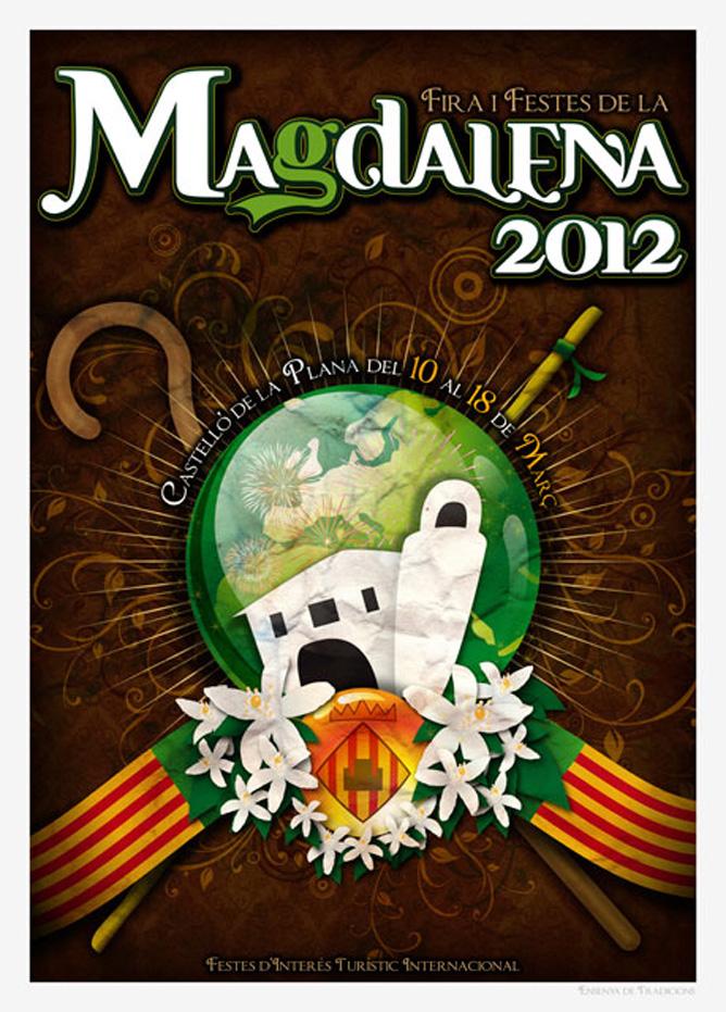 Castellón y celebra las fiestas patronales, Magdalena 2012.