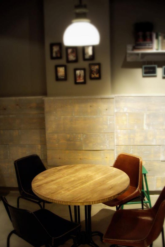 Proyectos muebles vintage mobiliario retro e industrial - Restaurante sergi arola en madrid ...