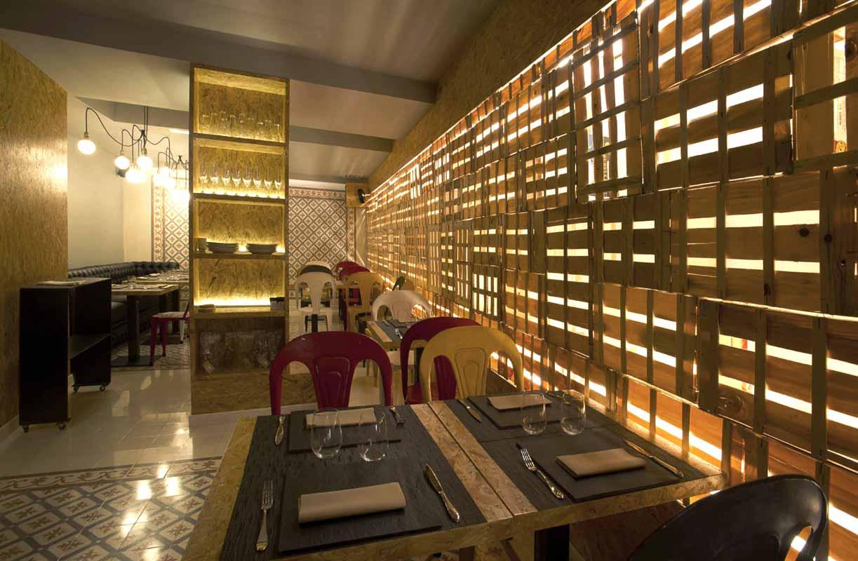 Muebles Y Decoracion Madrid : Muebles vintage en proyecto decoracion restaurante vi cool