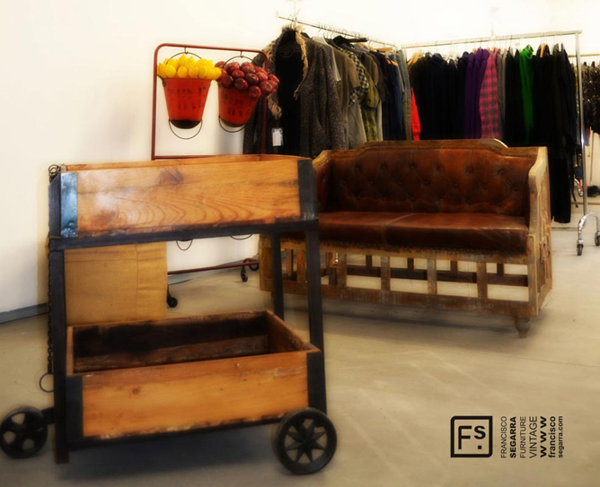 Venta de muebles pop up en design market francisco segarra - Segarra muebles ...