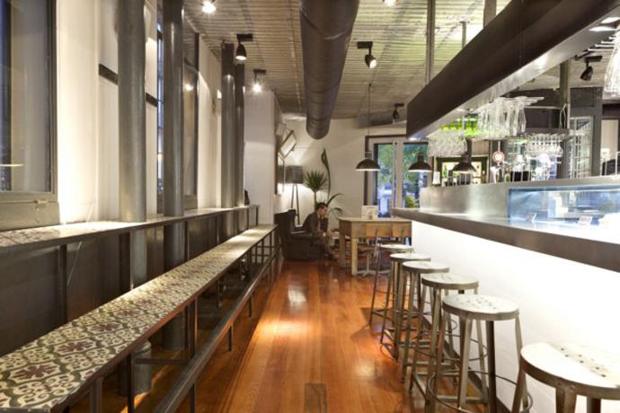 Proyecto de decoraci n interior restaurante la musa latina - Decoracion locales hosteleria ...
