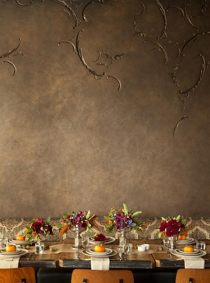 Interiorismo y decoración restaurante GJELINA