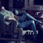 Imágenes del mobiliario cedido para la editorial de moda