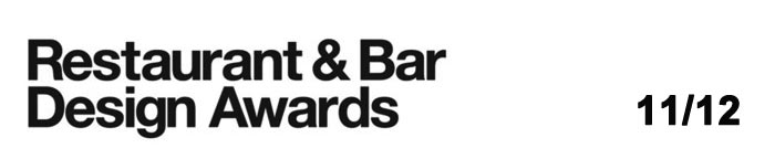 Imágen del logotipo Restaurant & Bar Design Awards