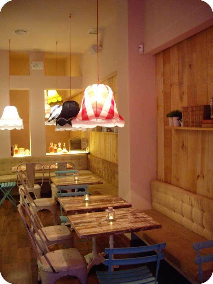Decoraci n de interiores en la cafeter a franquicia charlotte - Dibujos para decoracion de interiores ...