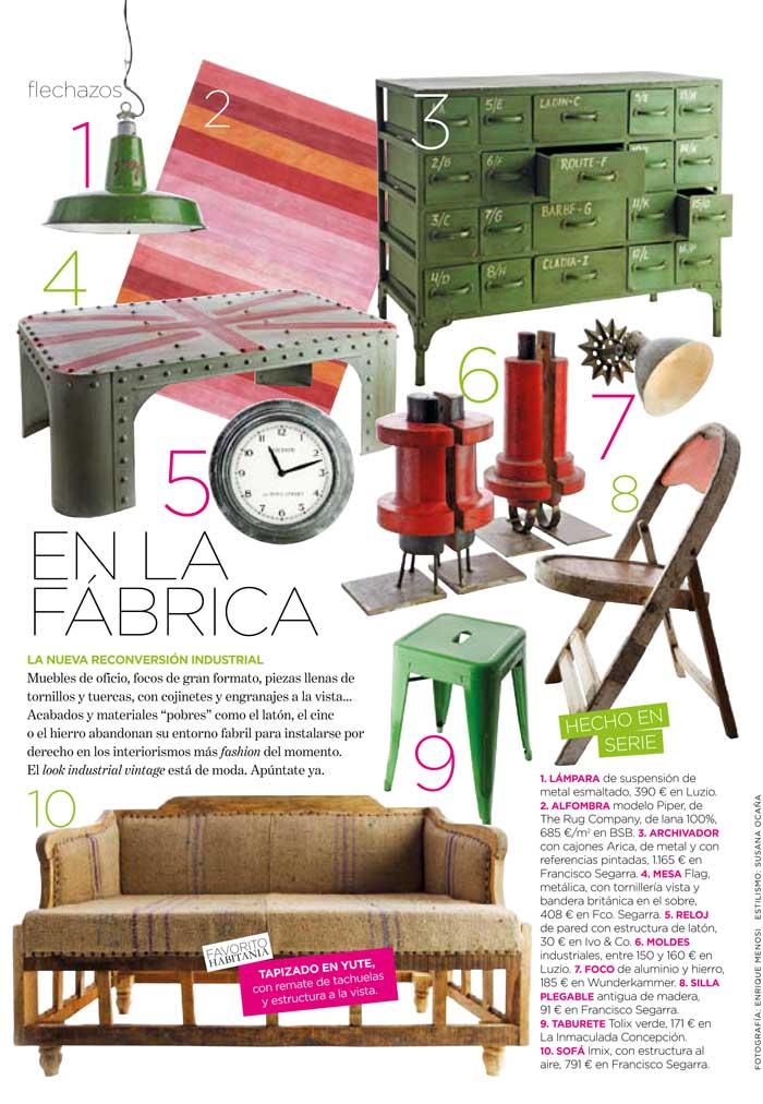 Imágenes de mobiliario en Habitania
