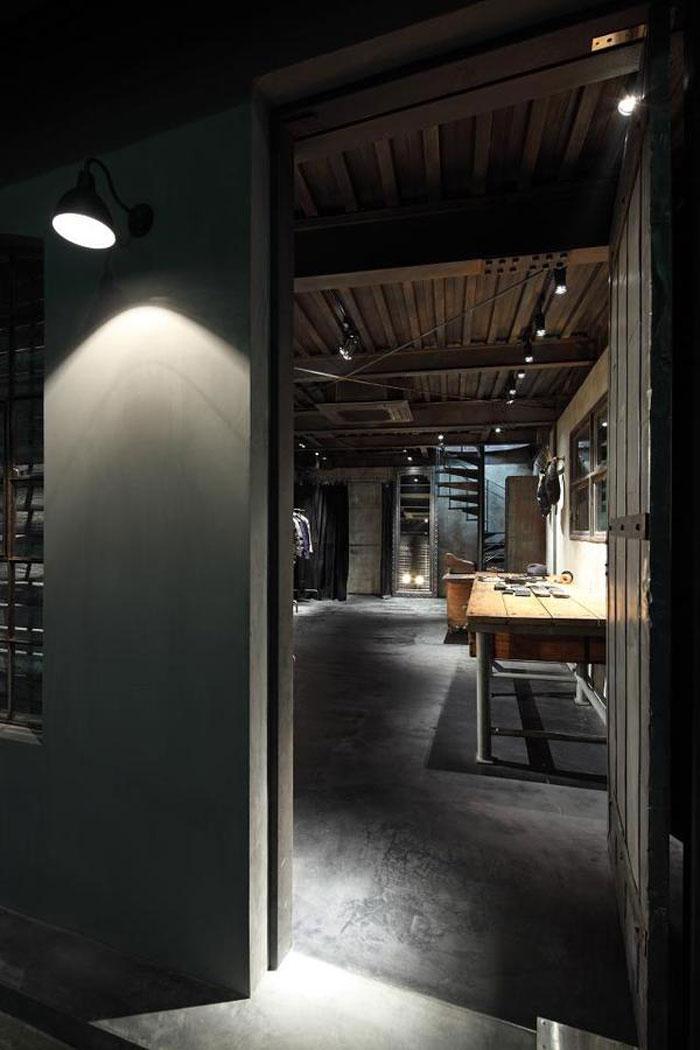 Decoraci n de estilo industrial y mobiliario para tiendas - Mobiliario estilo industrial ...
