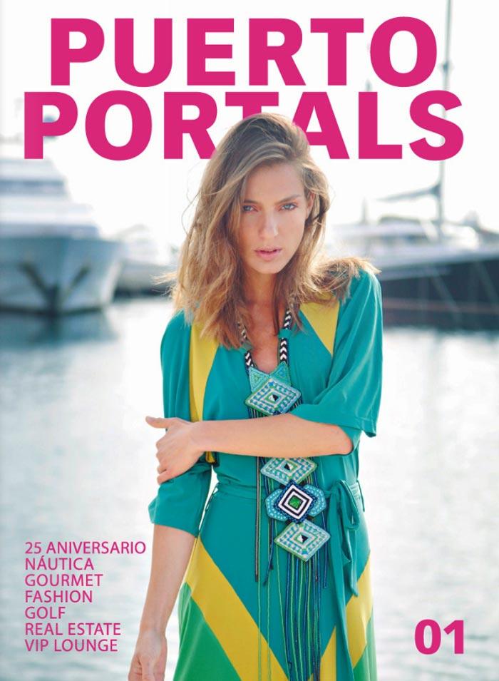 Imágenes de la Portada de la revista Puerto Portals