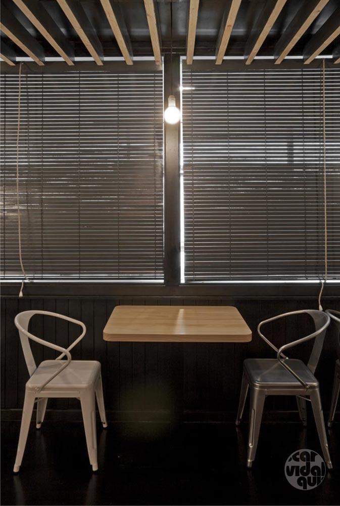 Fotos de la decoración y diseño del restaurante Nicky's