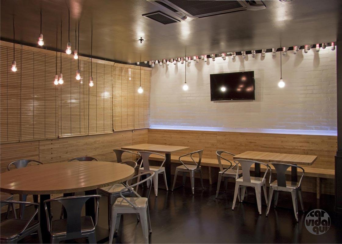 Mobiliario vintage para dise o de locales y restaurantes - Decoracion de bares y restaurantes ...