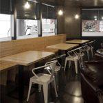 Fotos del interiorismo en el Restaurante Nicky's en Gandia