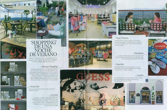 Fotos del interior de la revista Yo Dona de Julio