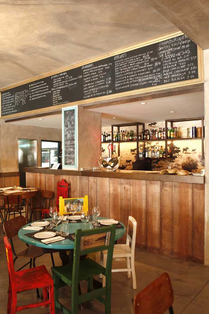 Proyecto interiorismo para hosteleria con mobiliario vintage for Interiorismo restaurantes