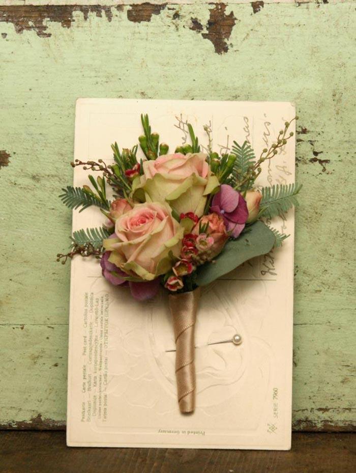 Imágenes de arreglos florales de Scarlet & Violet