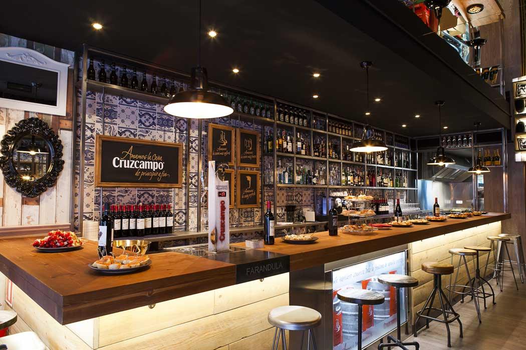 Far ndula proyecto de restauraci n de dise o vintage for Barra bar vintage