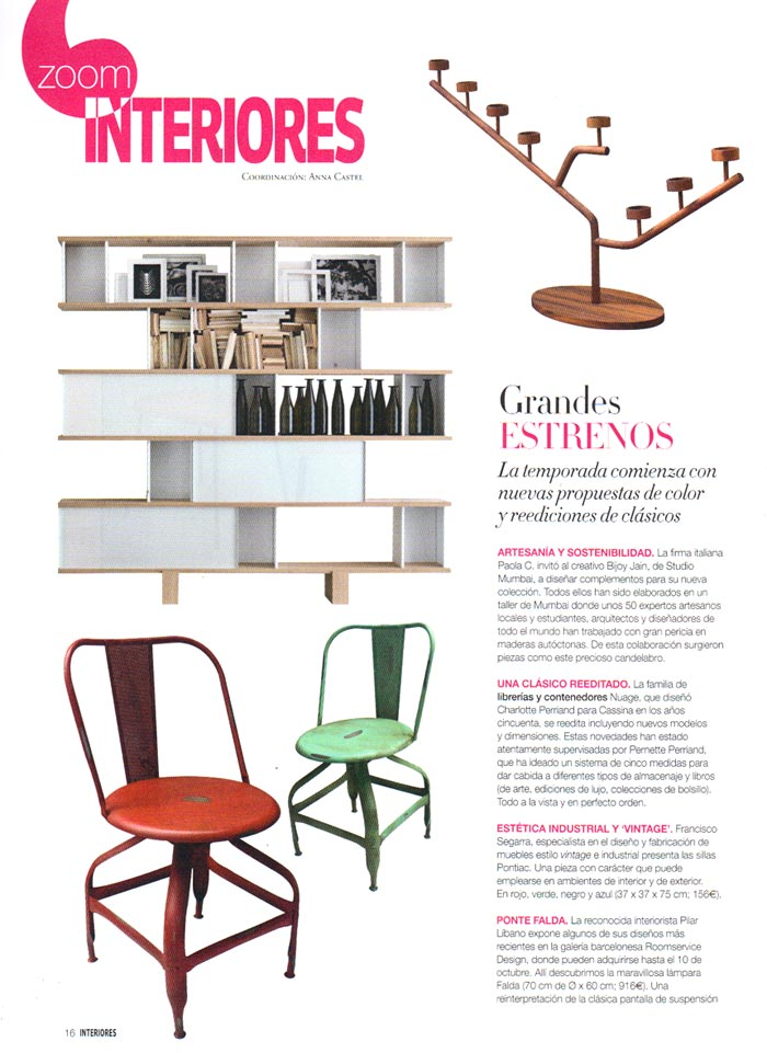 Estilo industrial en la revista de decoraci n interiores for Se necesita decorador de interiores