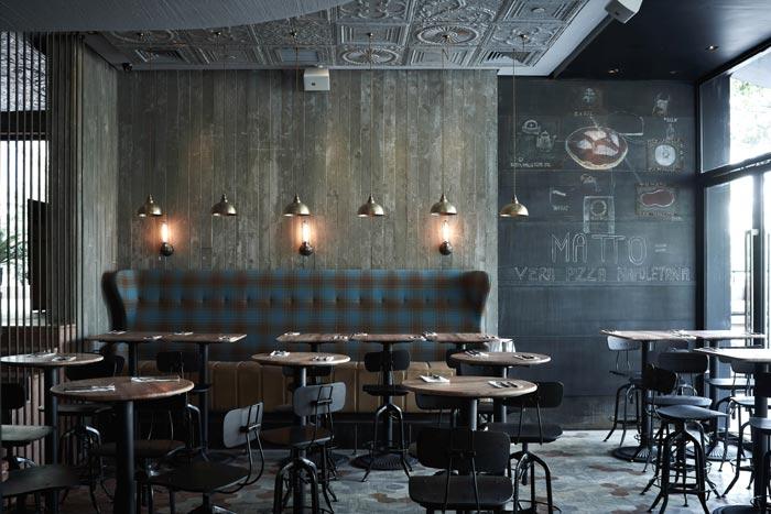 Proyecto De Arquitectura Y Diseo Pizzera Matto En FS Muebles