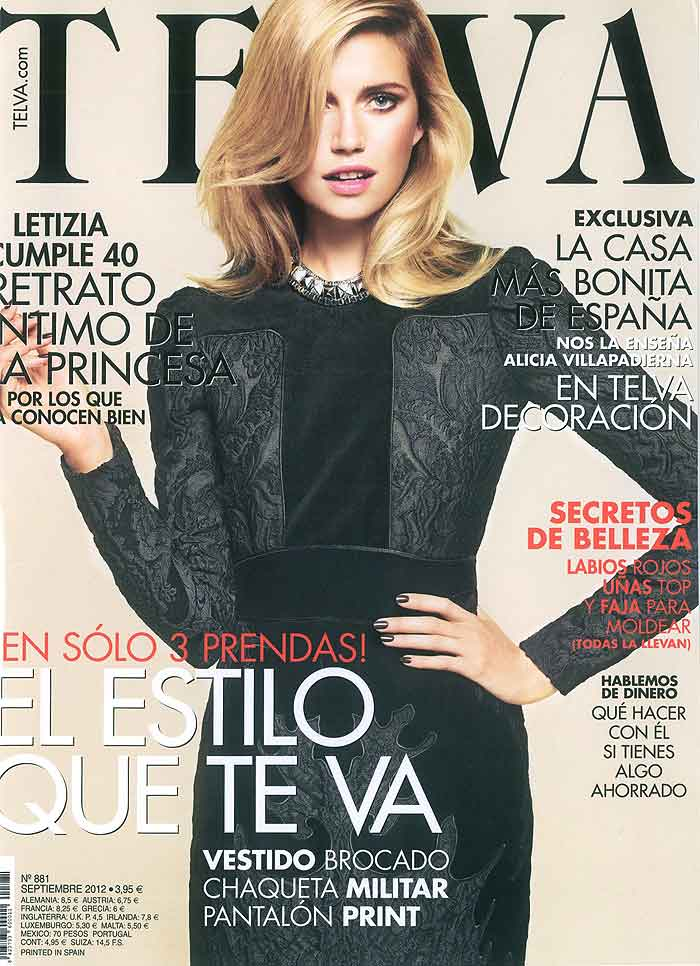 Imágenes de Telva; revista especializada en moda, tendencias y decoración.