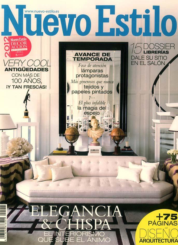 Foto de la portada de octubre de la publicación Nuevo Estilo