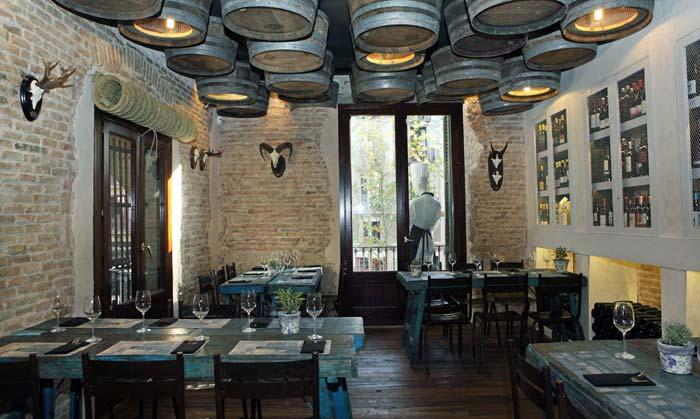 Fotos de mobiliario y decoración para restaurantes y cafeterías