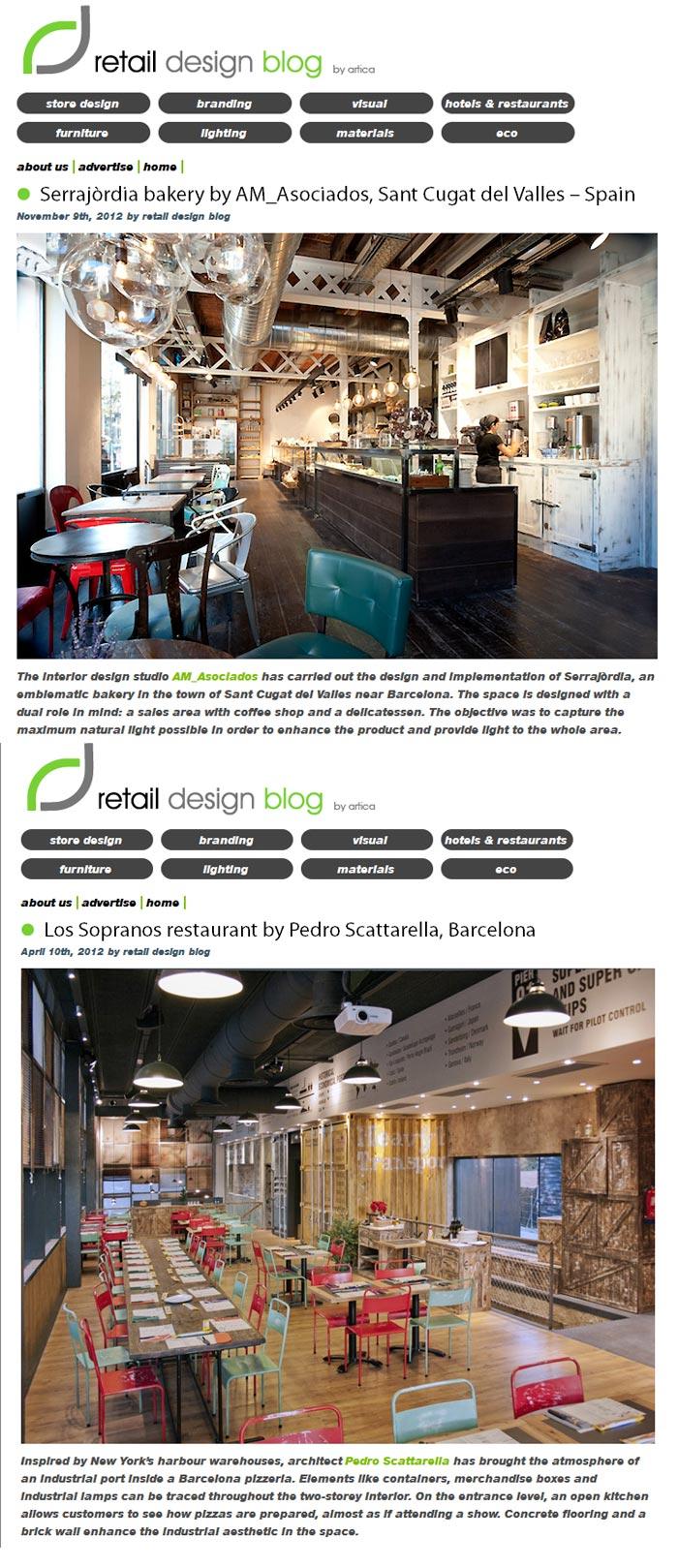 imágenes de retail design blog