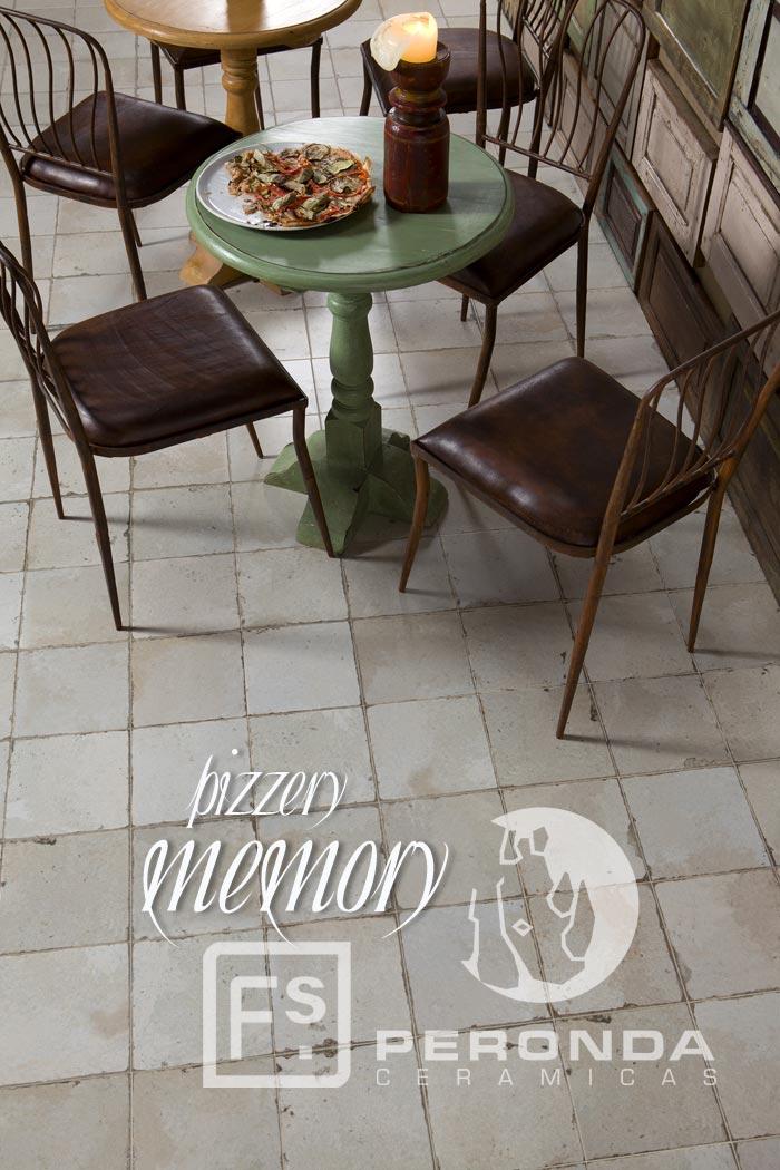 Fotos de la noticia sobre Pizzery Memory de Peronda Cerámicas