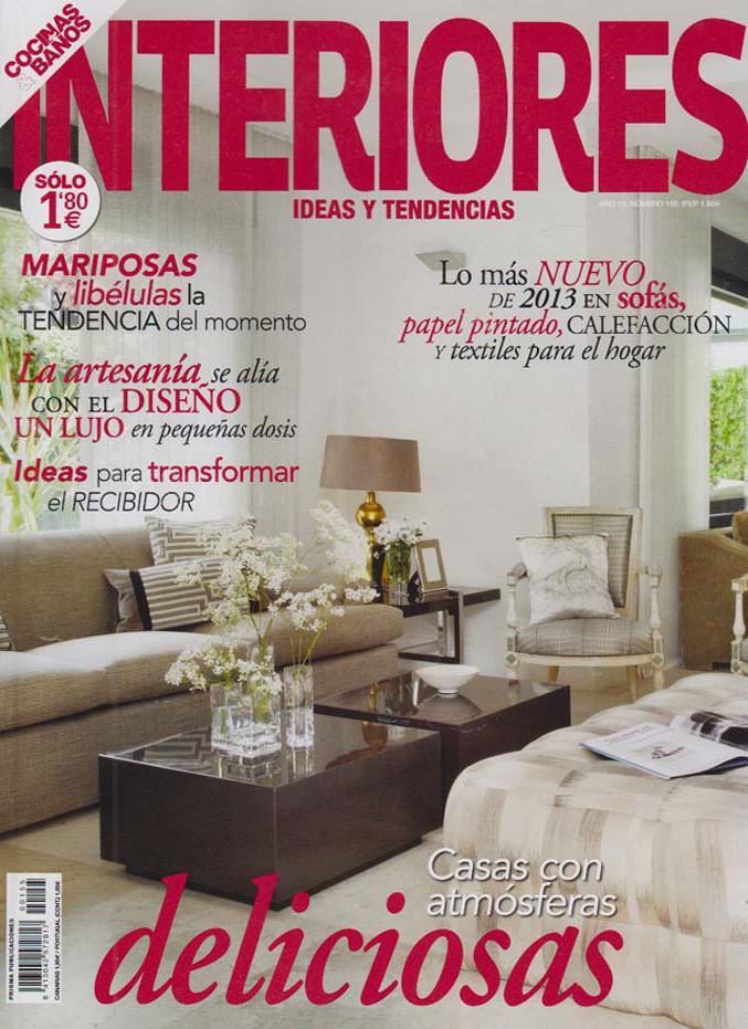 Publicación INTERIORES, IDEAS Y TENDENCIAS