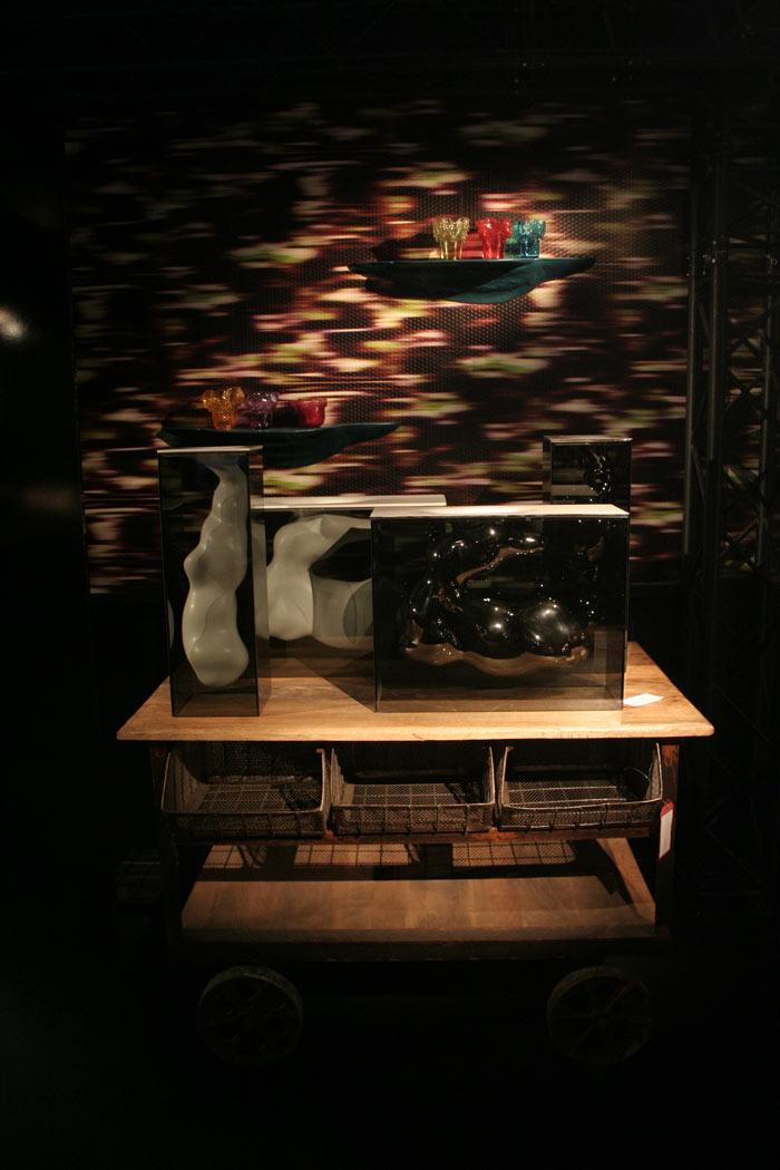 Imágenes del Mueble Aura de Francisco Segarra en Maison&Objet 2013 Paris
