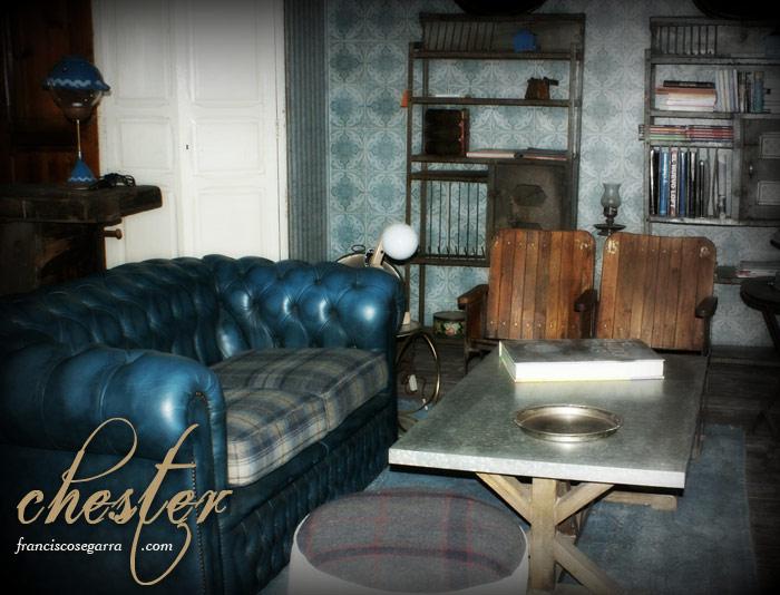Imágenes de los sillones y sofás chesterfield de la firma Francisco Segarra