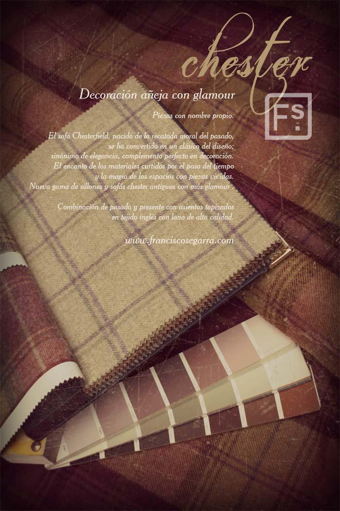Imágenes de la noticia sobre la nueva estética de los chester de Francisco Segarra
