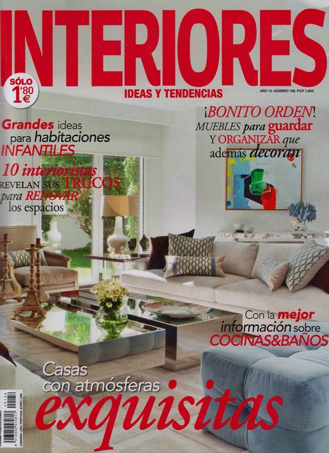 Silla Pontiac de Francisco Segarra en la publicación Interiores 156