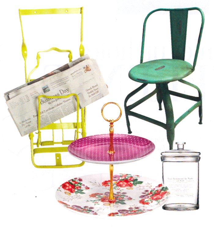 Imágenes de las sillas pontiac en la revista INTERIORES