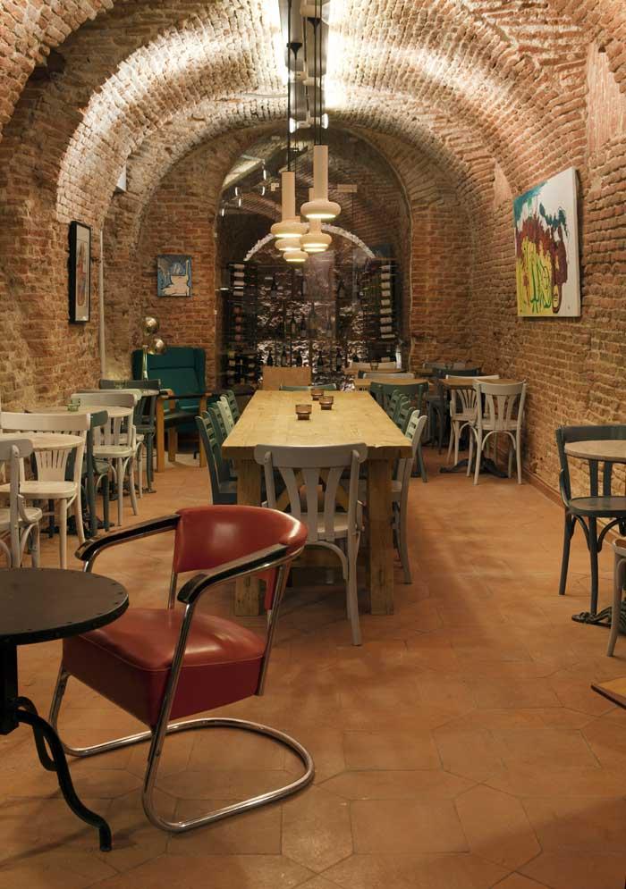 Decoración en Cava Mayor de la franquicia Cafe&Té