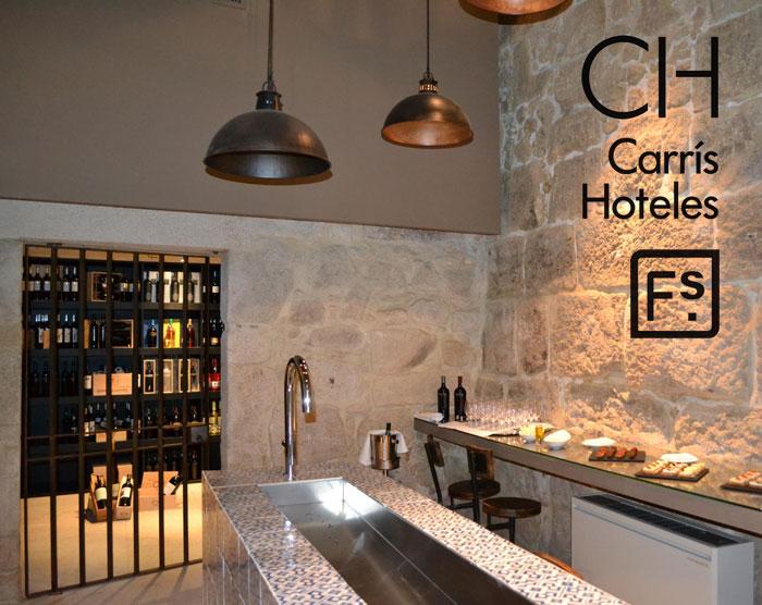 Imágenes del interiorismo del Hotel Carris Porto Ribeira