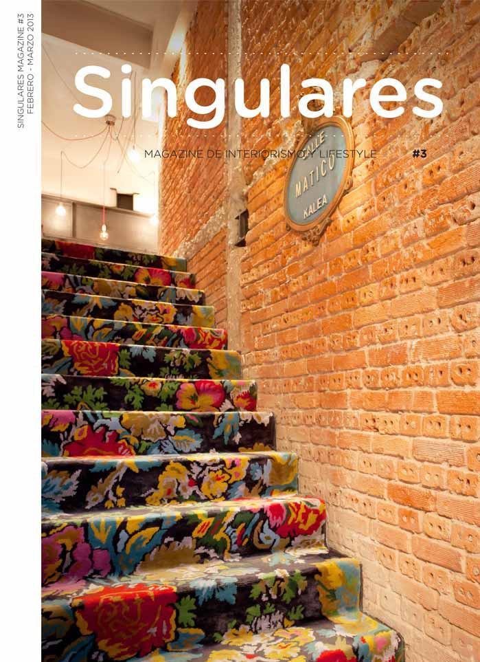Imágenes de la portada de la revista digital Singulares#3