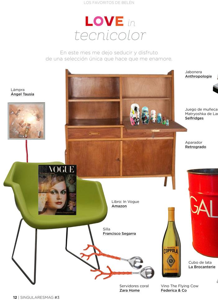 Imágenes de las sillas Robin Day en Singulares Magazine
