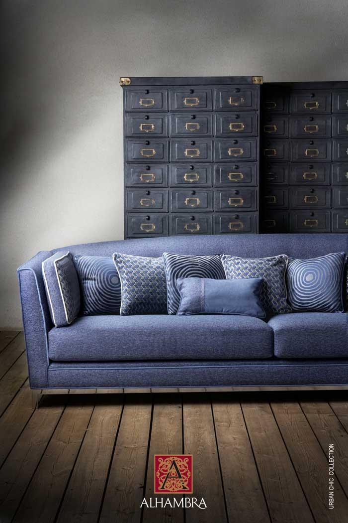 Muebles y textiles colecci n francisco segarra y alhambra 2013 for Muebles urban chic