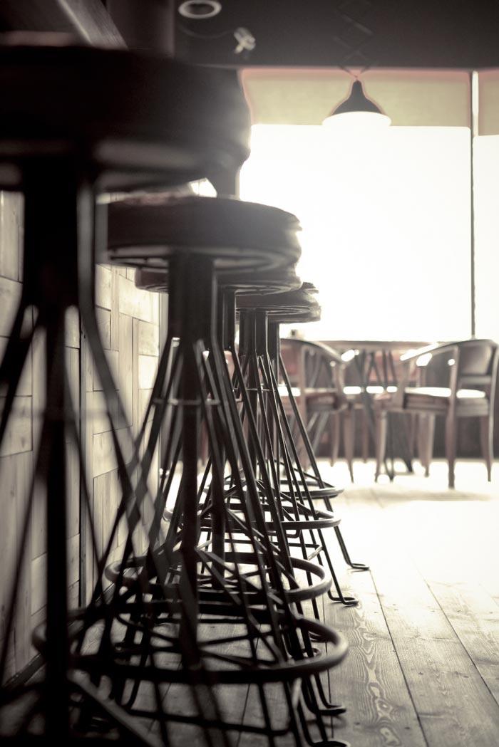 Imágenes del Proyecto de interiorismo del Bar Boroda