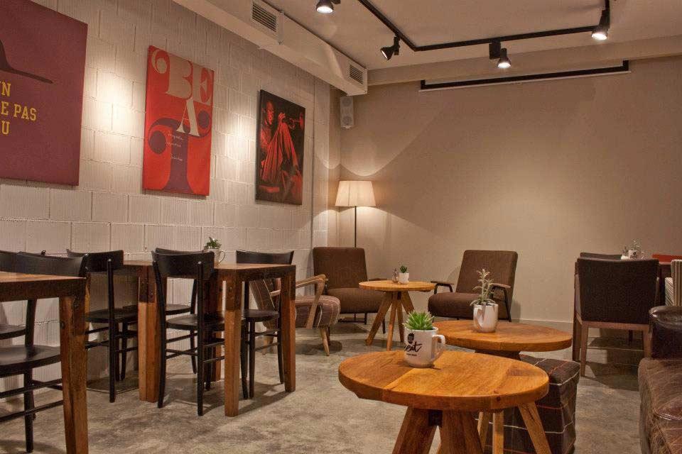 Proyecto de interiorismo de la cafeter a beat caf soul for Muebles para restaurantes y cafeterias