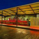 Fotos de la barra de bar en la terraza Il Rosso Puerto
