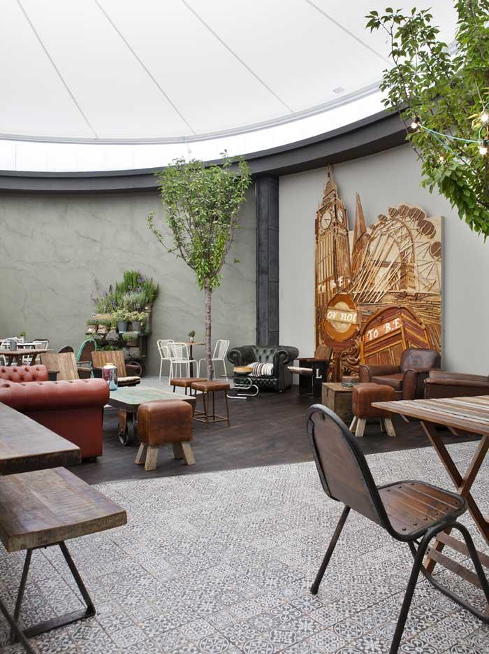 mobiliario vintage francisco segarra restaurante casa decor