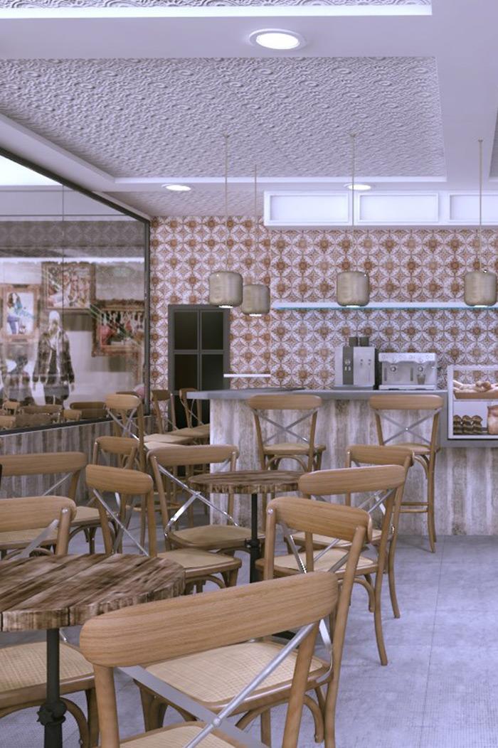 Fotos. Proyectos de interiorismo para franquicias.