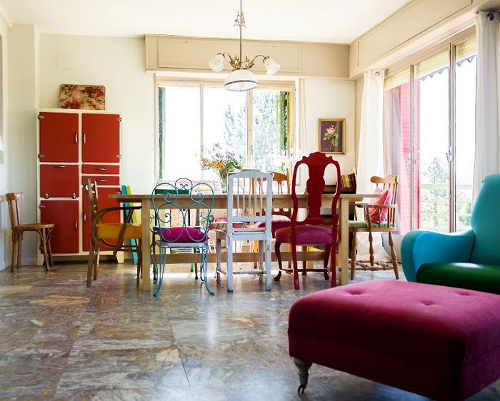 Singulares Magazine. Diseño interior casas rurales