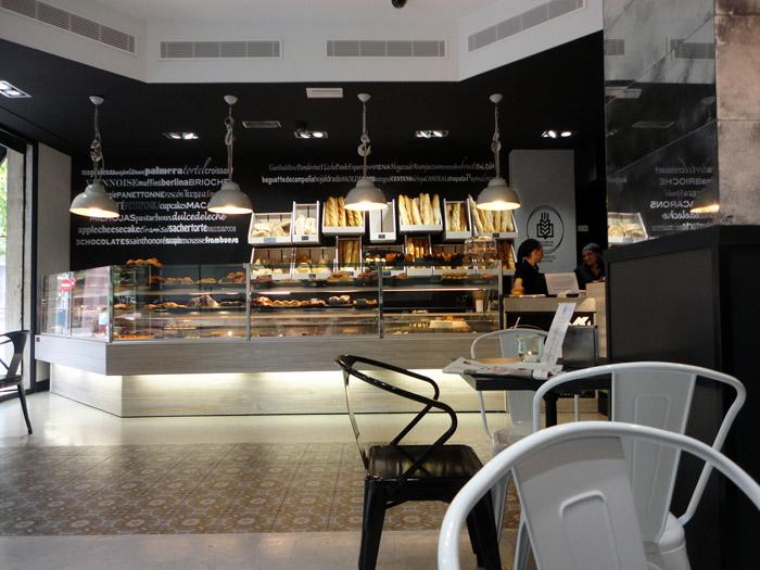 Fotos de la nueva imagen de la panadería Lazareno Gourmet.