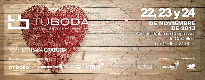 Foto de la noticia sobre la decoración de los stands de Tu Boda 2013 Castellón