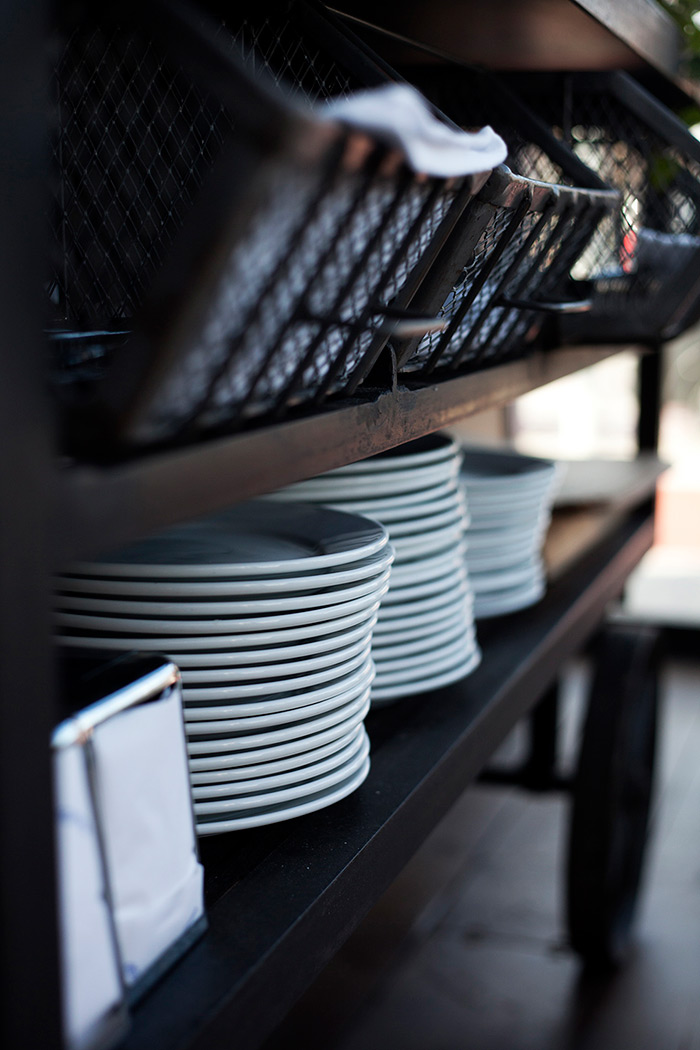 Muebles para interiorismo y decoraci n de restaurantes for Vajilla para bar