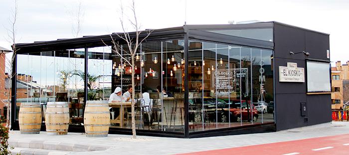 Muebles para interiorismo y decoraci n de restaurantes for Mobiliario para bares y restaurantes