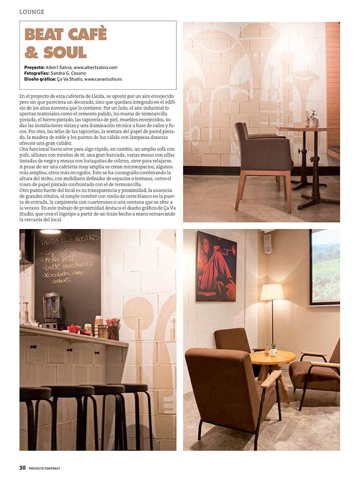 Fotos de la decoración de la cafetería Beat Café & Soul.