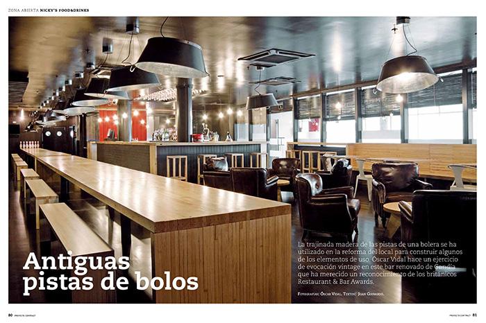 Imagen de Proyectos Contract con muebles de la firma Francisco Segarra.